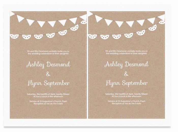 Free Wedding Invitation Printables Unique Free Printable Wedding Invitation Template
