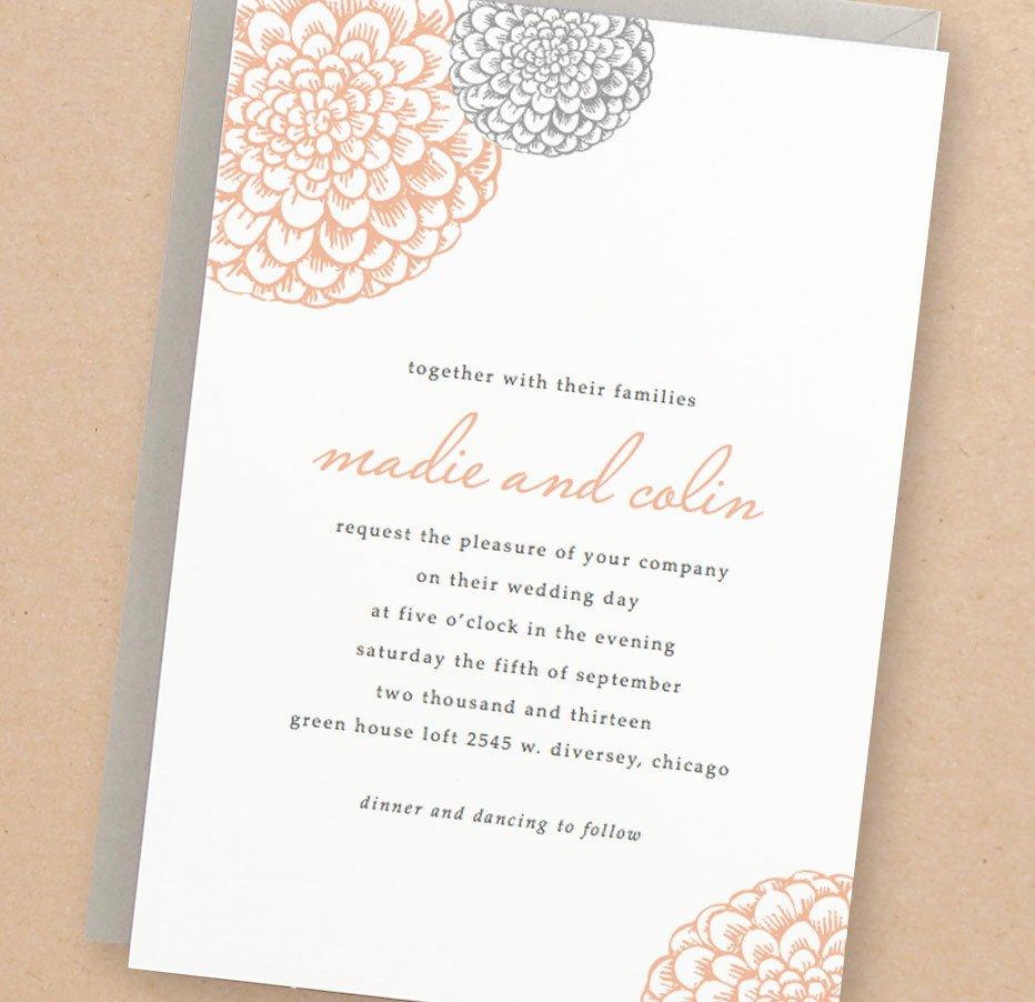 Free Wedding Invitations Printable Beautiful Printable Wedding Invitation Template Instant Download
