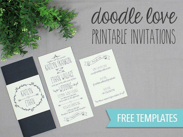 Free Wedding Invitations Printable Best Of Diy Tutorial Free Printable Wedding Invitation Set Boho