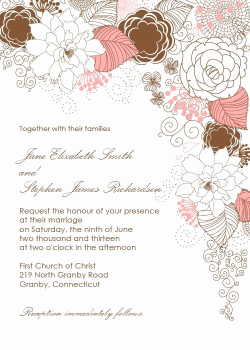 Free Wedding Invitations Printable Fresh 10 Free Printable Wedding Invitations Diy Wedding