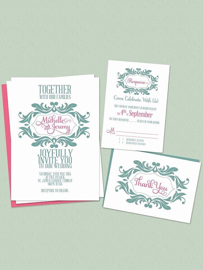 Free Wedding Invitations Printable Fresh 16 Printable Wedding Invitation Templates You Can Diy