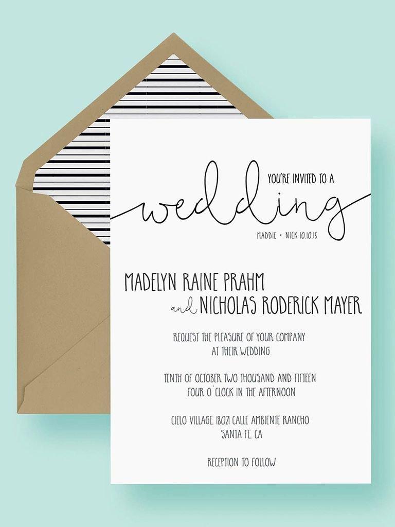 Free Wedding Invitations Printable New 16 Printable Wedding Invitation Templates You Can Diy