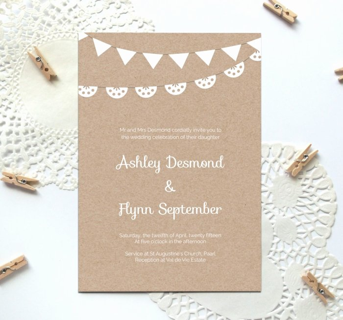 Free Wedding Invitations Printable New Free Printable Wedding Invitation Template