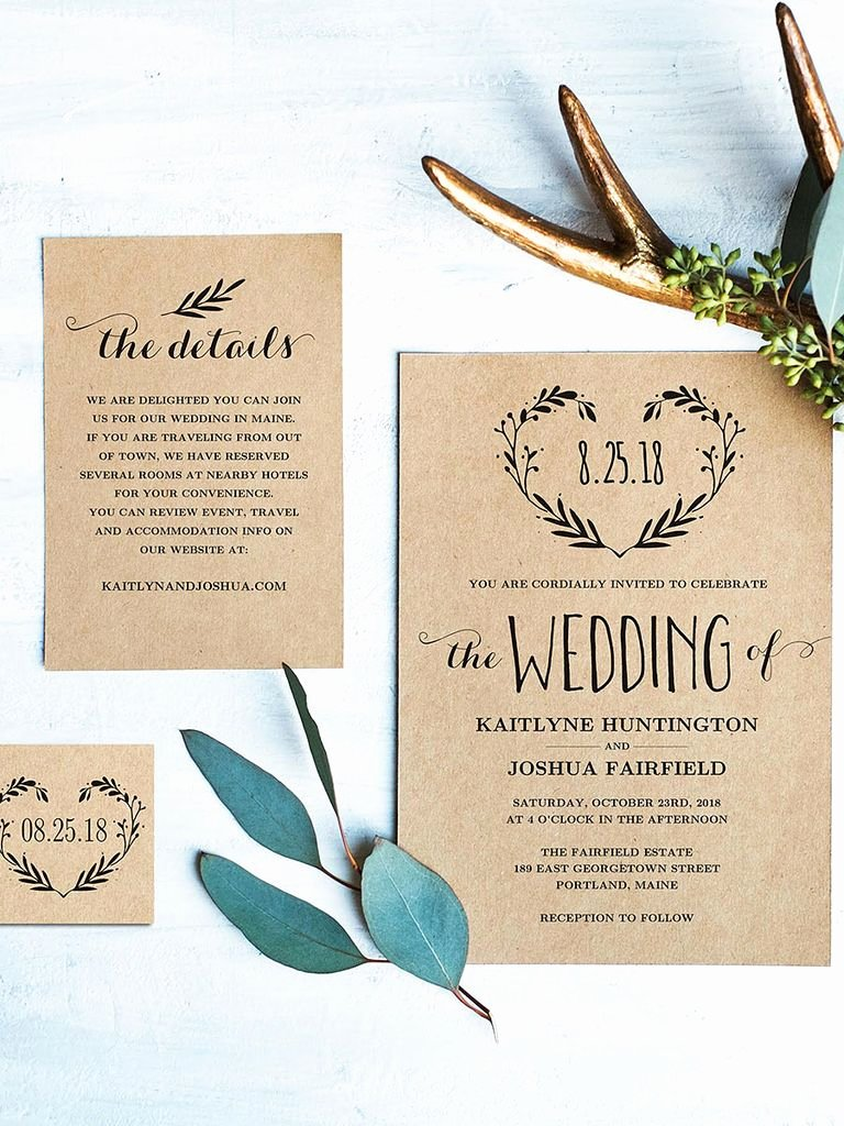 Free Wedding Invitations Printable Unique 16 Printable Wedding Invitation Templates You Can Diy