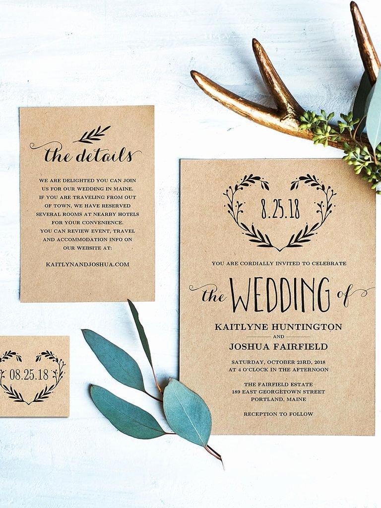 Free Wedding Invitations Printable Unique 16 Printable Wedding Invitation Templates You Can Diy