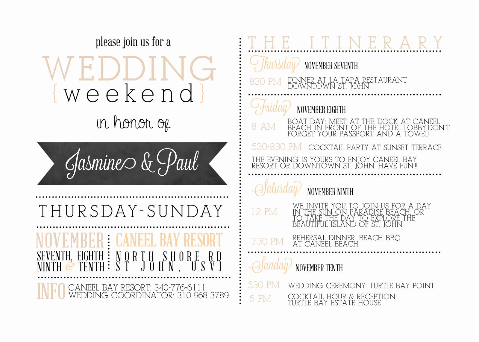 Free Wedding Itinerary Template Awesome Pin On Wedding