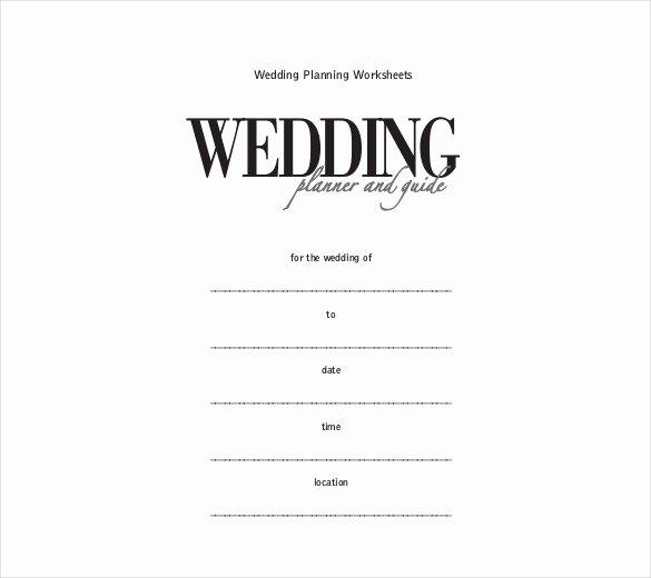 Free Wedding Itinerary Template Fresh Wedding Itinerary Template