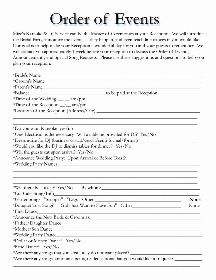 Free Wedding Itinerary Template Inspirational Best 25 Wedding Itinerary Template Ideas On Pinterest