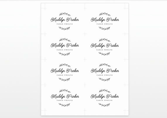 Free Wedding Place Cards Templates Awesome Best 25 Printable Wedding Place Cards Ideas On Pinterest