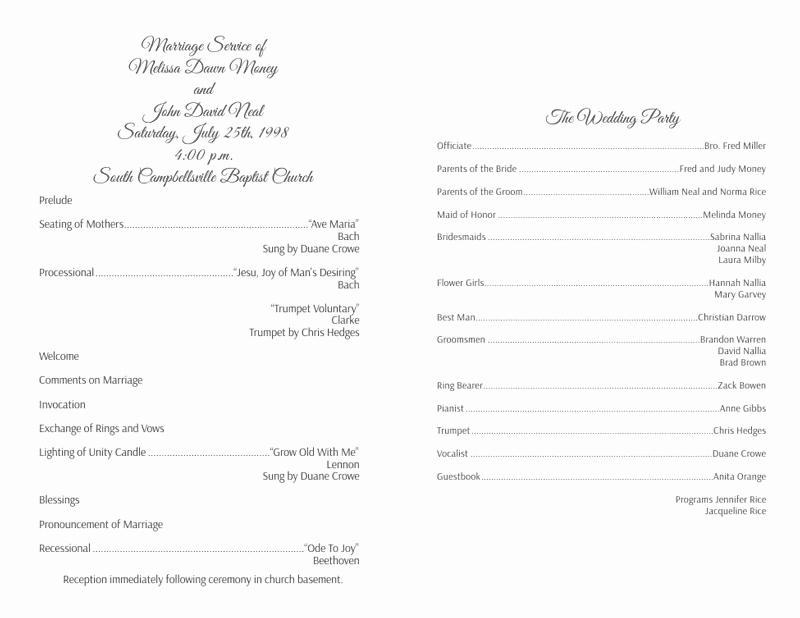Free Wedding Programs Templates Beautiful Wedding Program Templates Wedding Programs Fast