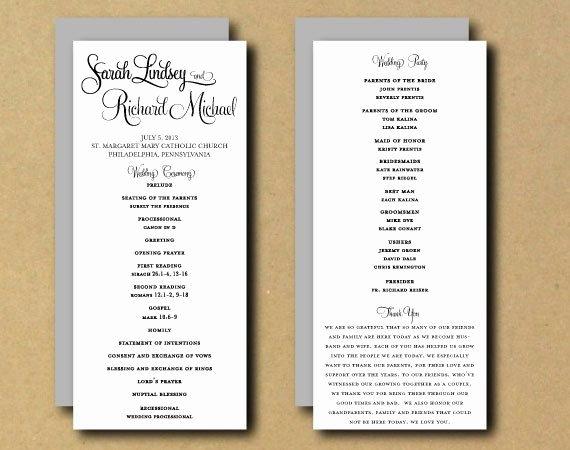 Free Wedding Programs Templates Luxury Best 25 Wedding Program Templates Ideas On Pinterest