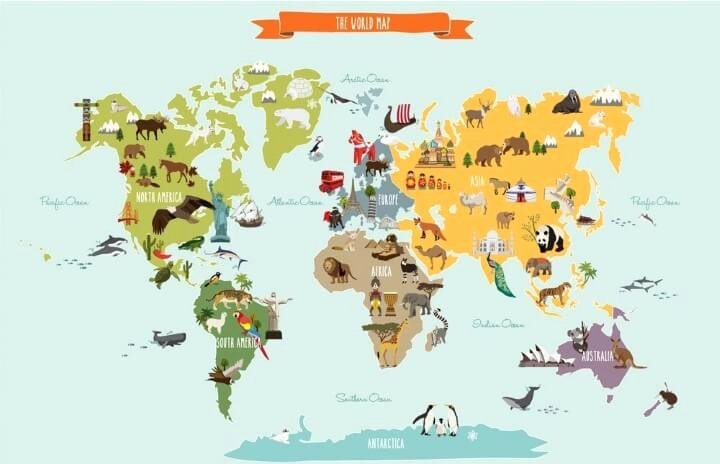 Free World Map Poster Fresh 37 Eye Catching World Map Posters You Should Hang Your