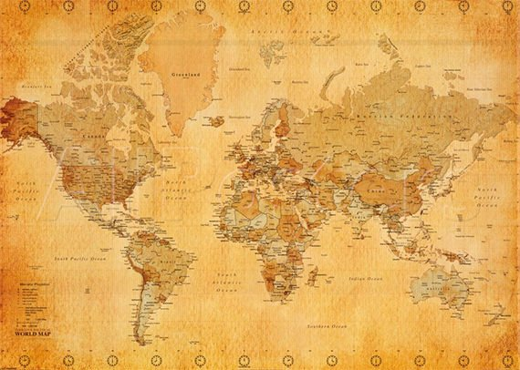 Free World Map Poster Lovely 30 World Map Psd Posters Free Psd Posters Download