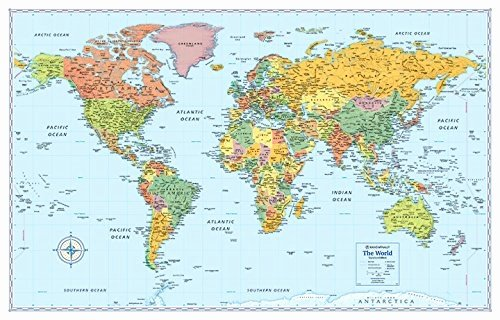 Free World Map Poster New 37 Eye Catching World Map Posters You Should Hang Your