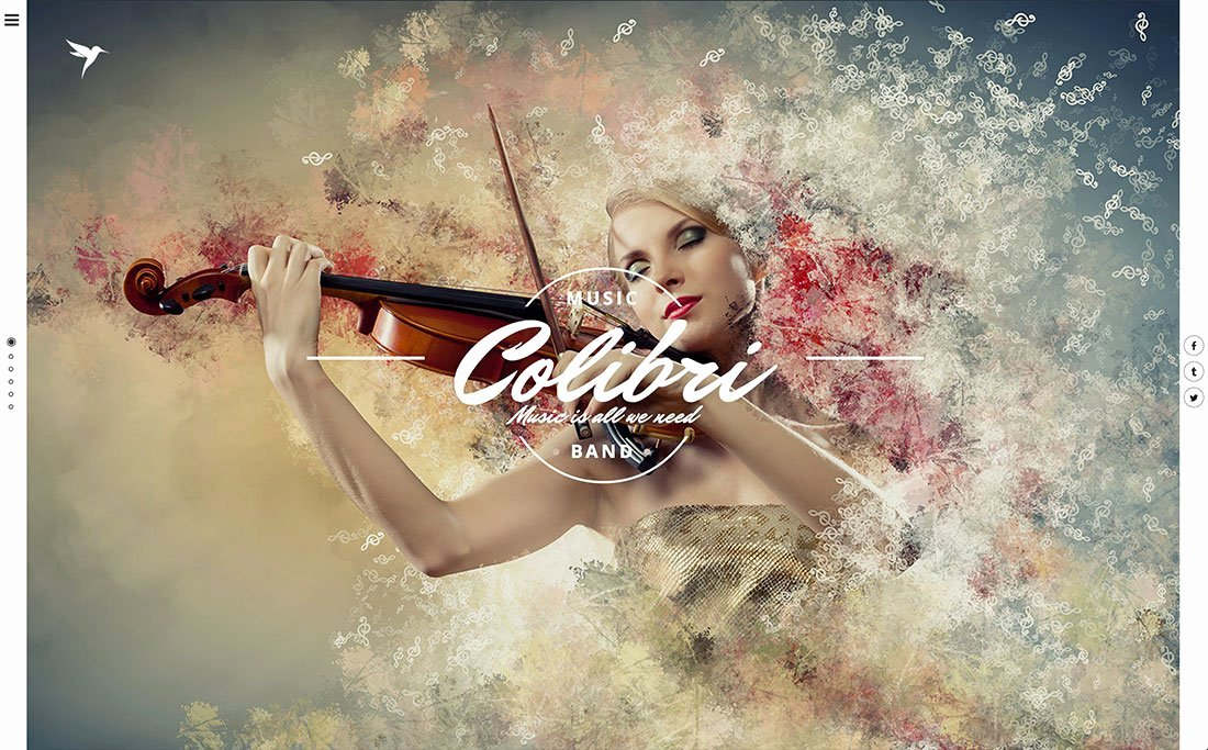 Free Wp Music theme Luxury 26 Best Wordpress themes for Artists 2019 Colorlib