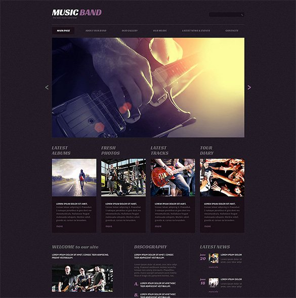 Free Wp Music theme New 21 Music Blog themes & Templates