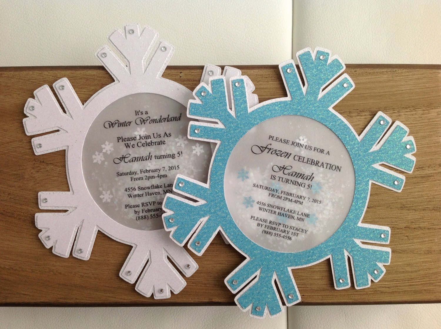 Frozen Baby Shower Invitations Beautiful Winter Wonderland Snowflake Invitation Set Of 8