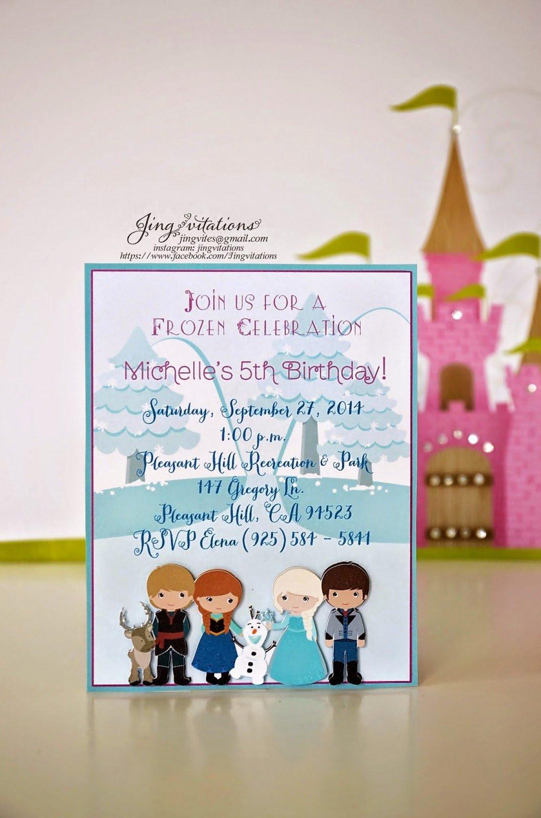 Frozen Baby Shower Invitations New Birthday and Baby Shower Invitations Frozen