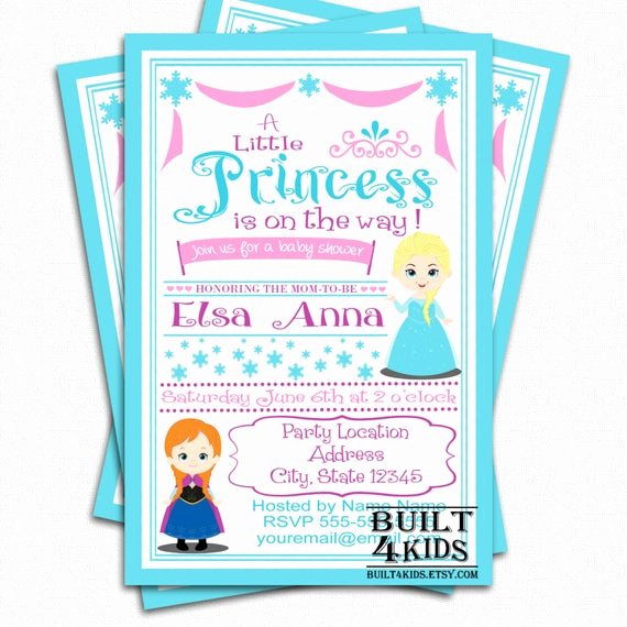 Frozen Baby Shower Invitations New Frozen Baby Shower Invitation