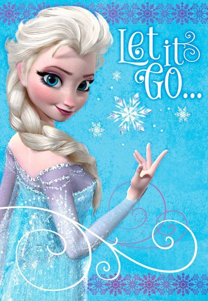 Frozen Birthday Card Printables Awesome Frozen Elsa Let It Go Birthday Card Greeting Cards