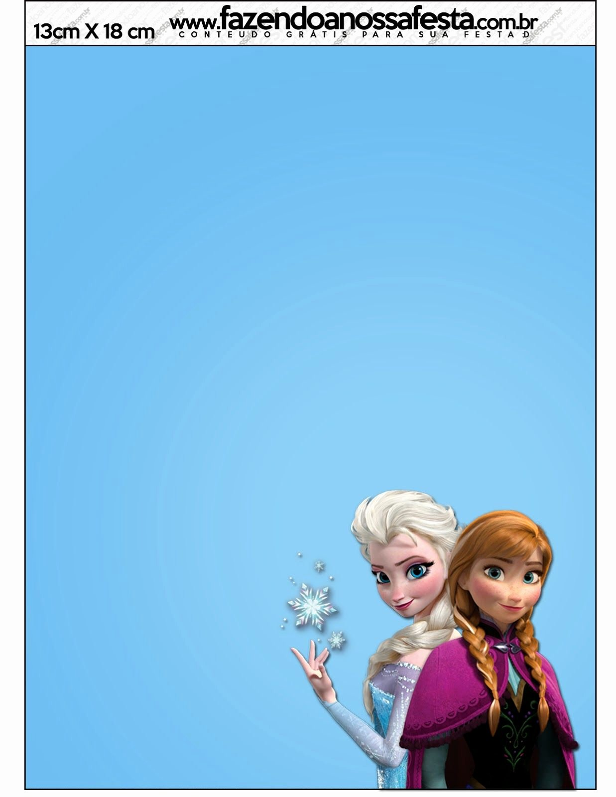 Frozen Birthday Card Printables Fresh Frozen Free Printable Cards or Party Invitations