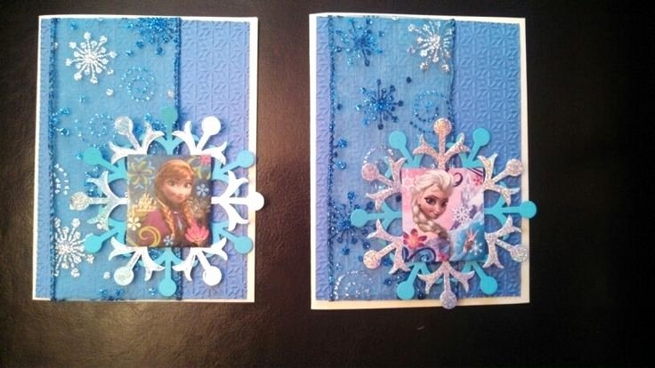 Frozen Birthday Cards Printable Awesome Frozen Birthday Cards Party Pinterest