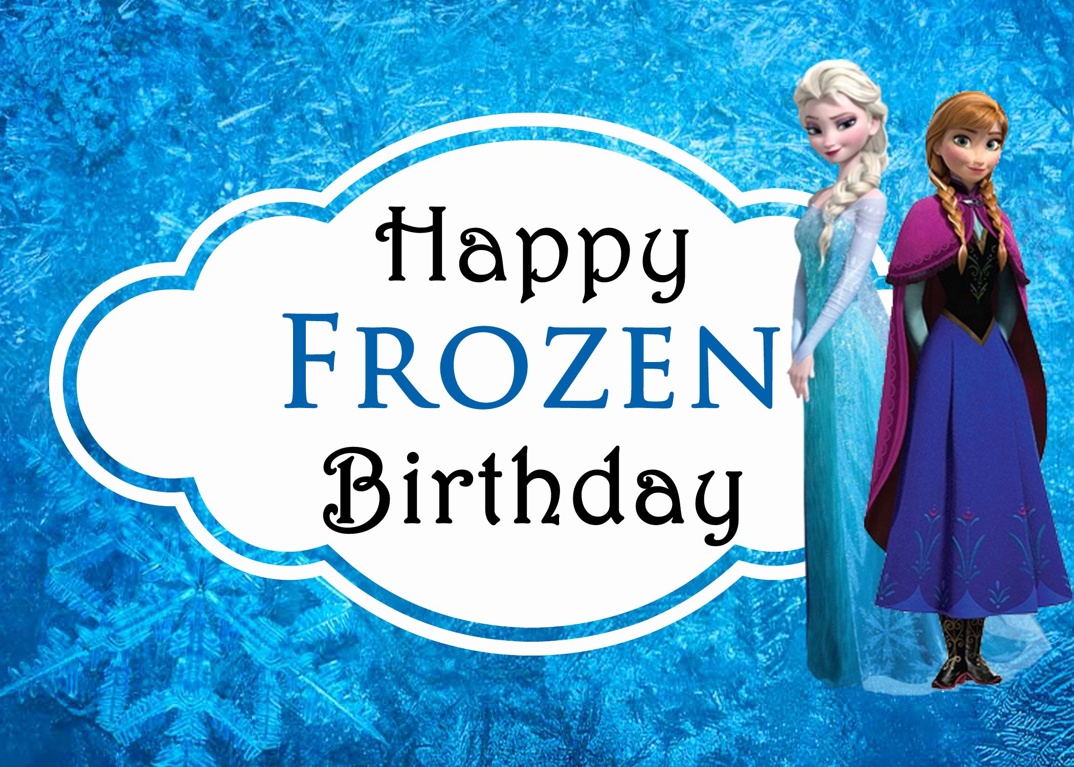 Frozen Birthday Cards Printable Best Of Celebrating Sisters with Disney S Frozen Free Printable