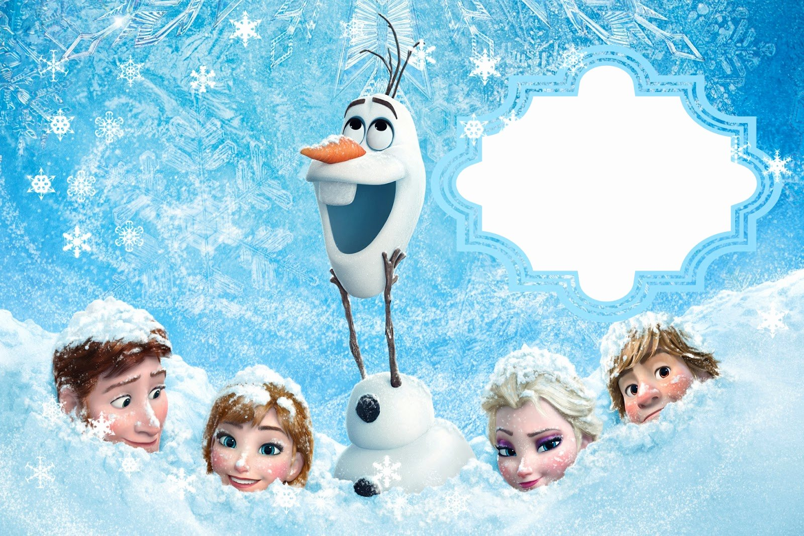 Frozen Birthday Cards Printable Fresh Frozen Free Printable Cards or Party Invitations Oh My