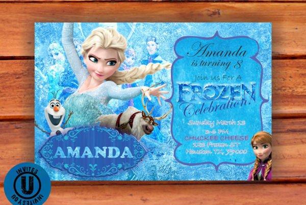 Frozen Birthday Cards Printable Fresh Printable Birthday Cards