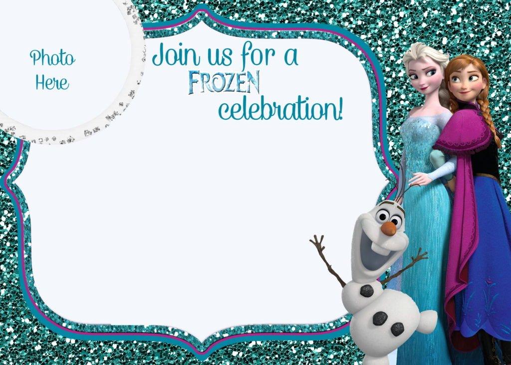 Frozen Birthday Invitations Free Best Of Free Printable Frozen Movie Birthday Invitations Party