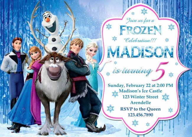 Frozen Birthday Invitations Free Best Of How to Frozen Birthday Invitations