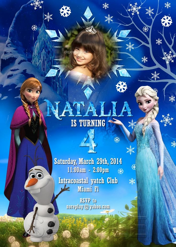 Frozen Birthday Invitations Free Fresh Best 25 Free Frozen Invitations Ideas On Pinterest