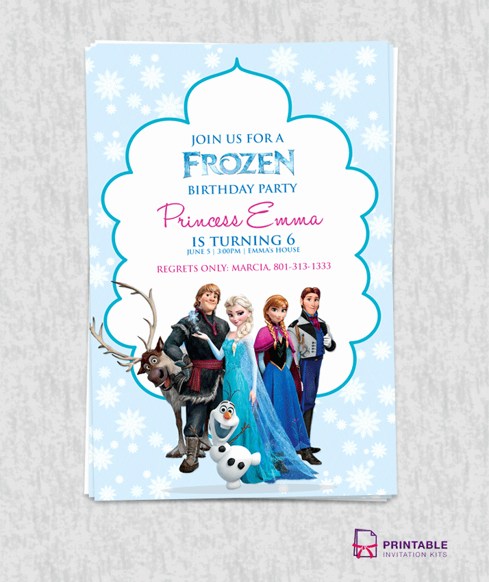 Frozen Birthday Invitations Free Inspirational Musings Of An Average Mom Free Frozen Party Printables