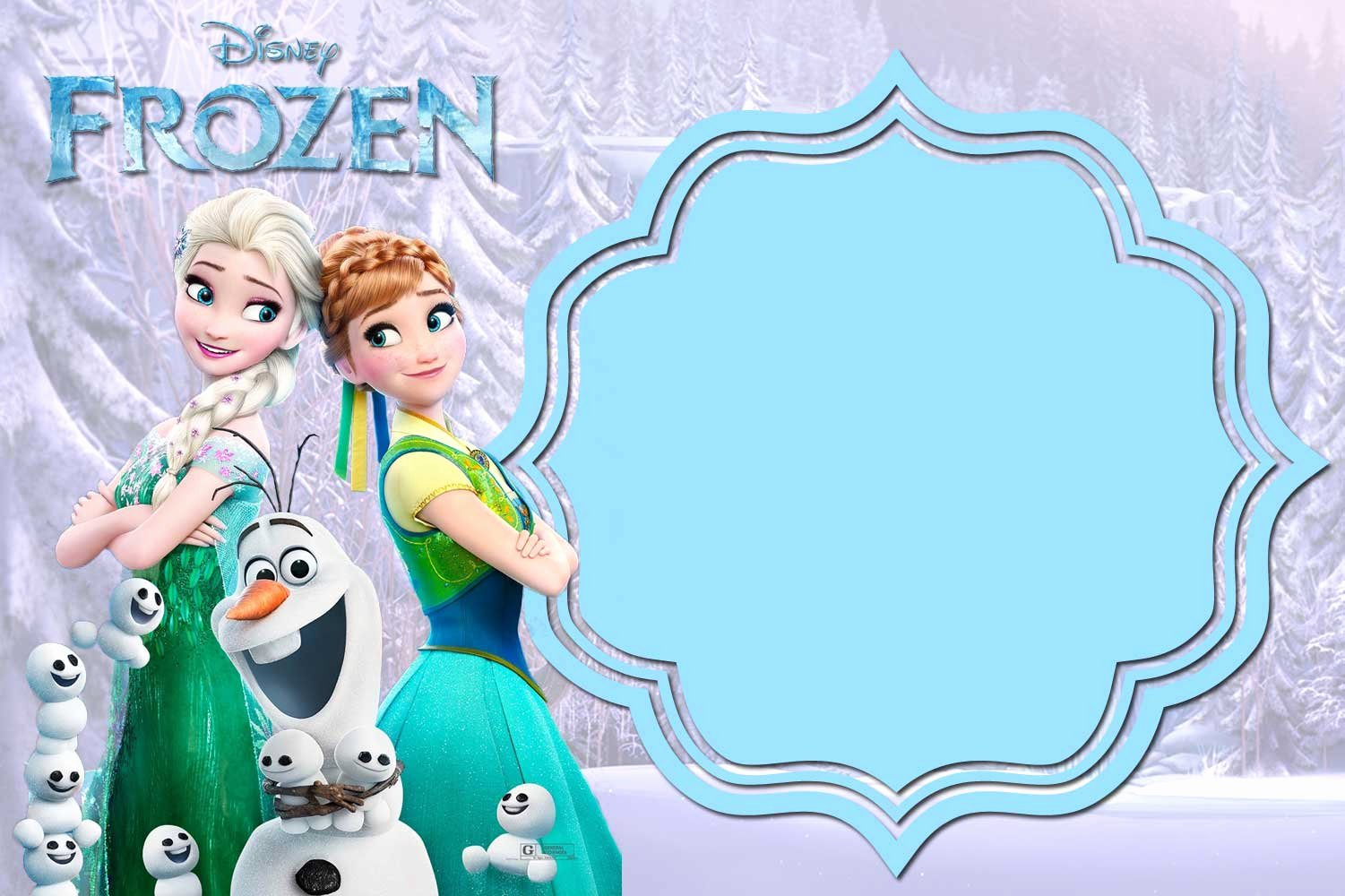 Frozen Birthday Invitations Free Unique Free Printable Frozen Invitation Templates – Bagvania Free