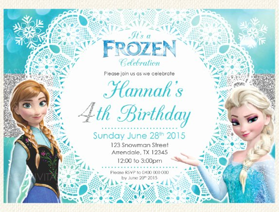Frozen Party Invitation Template Best Of 12 Frozen Birthday Invitation Psd Ai Vector Eps
