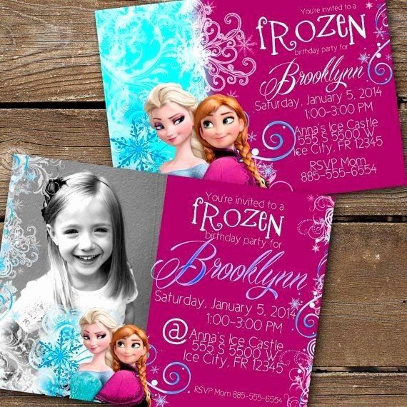 Frozen Party Invitation Template Best Of 23 Best Frozen Party Invitation Images On Pinterest