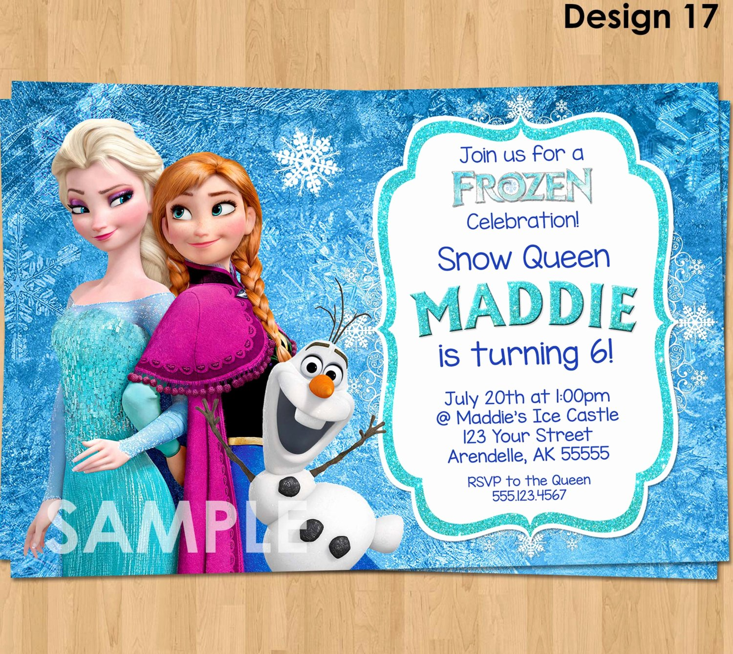 Frozen Party Invitation Template Best Of Frozen Invitation Frozen Birthday Invitation Disney Frozen