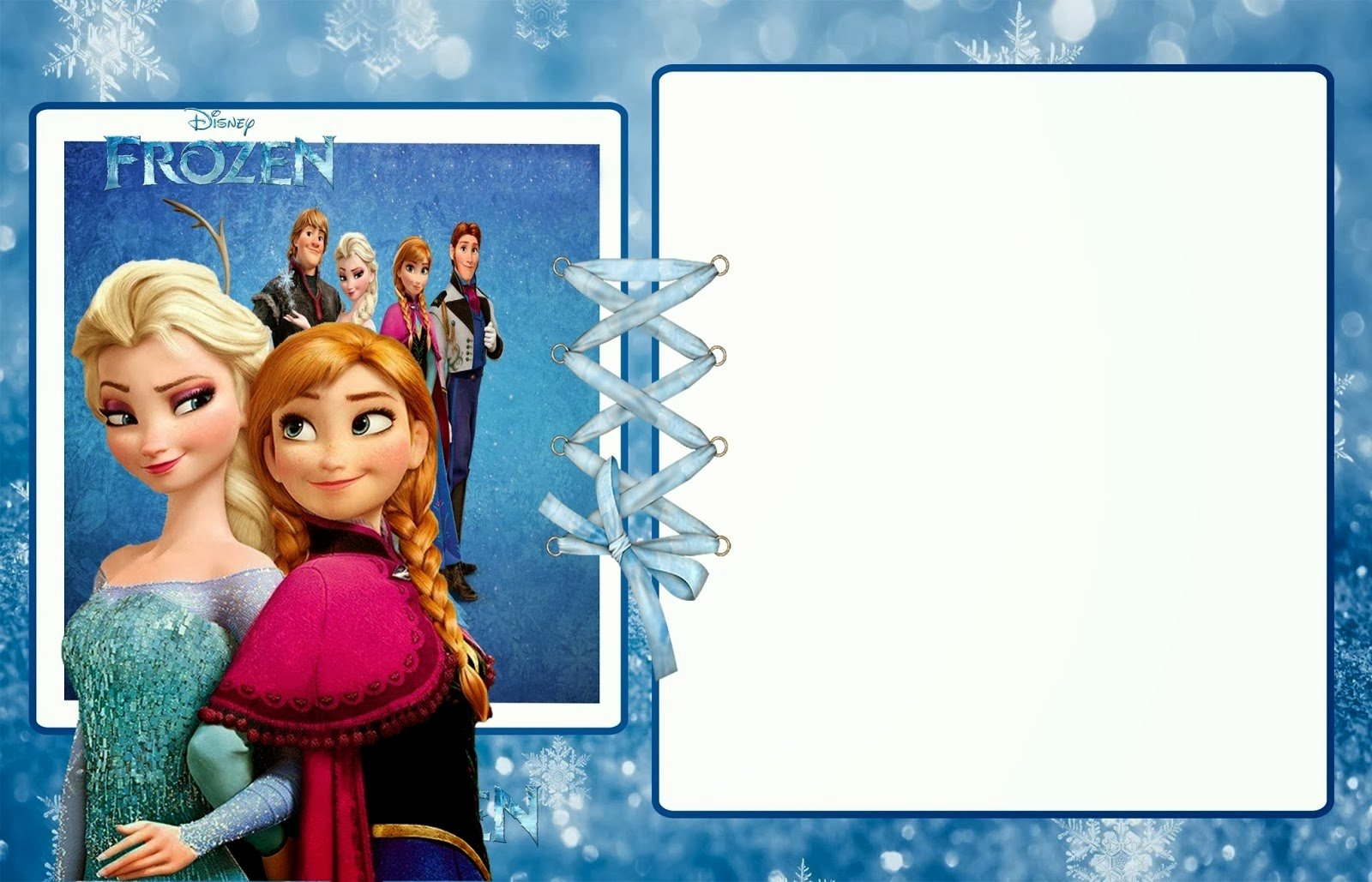 Frozen Party Invitation Template Luxury Frozen Party Free Printable Invitations