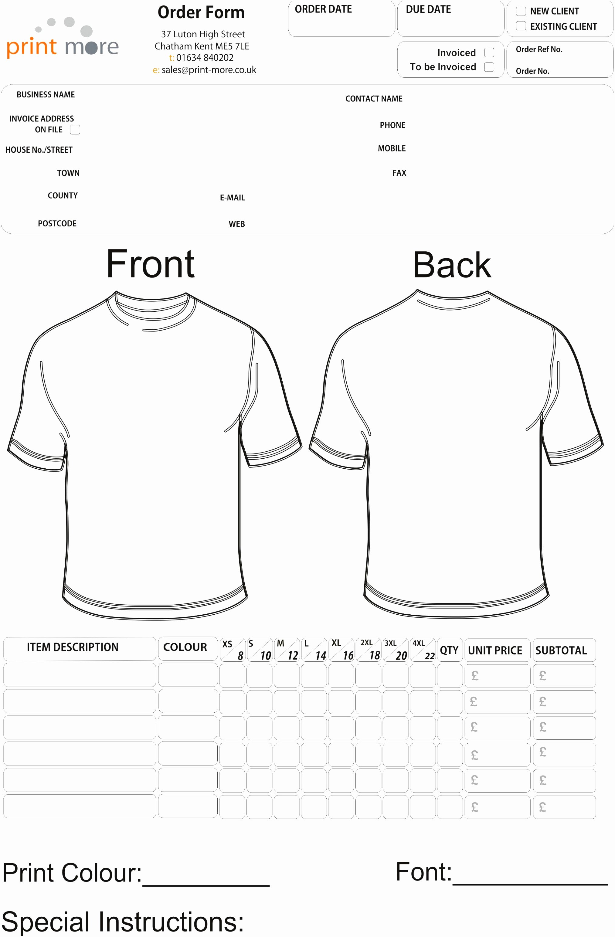 Fundraiser order form Template Word Fresh 9 Fundraiser order form Template Word Yywwo