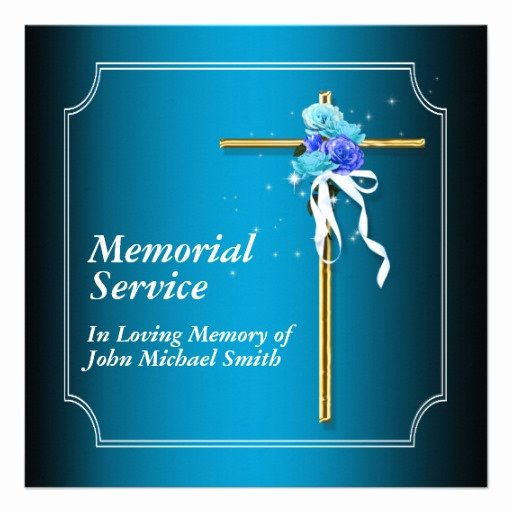 Funeral Announcement Templates Free Fresh 6 Best Of Memorial Service Background Memorial
