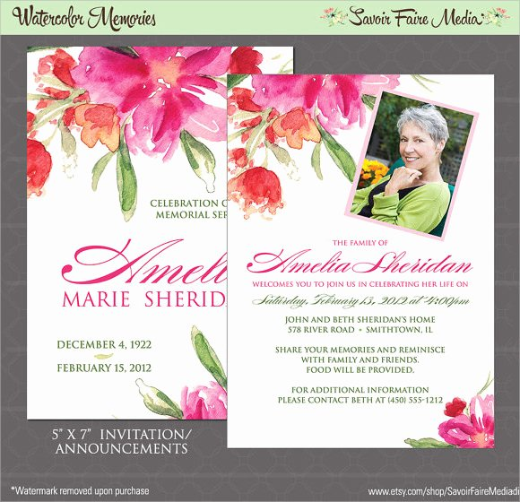 Funeral Announcement Templates Free Lovely 14 Funeral Notices Psd Vector Eps