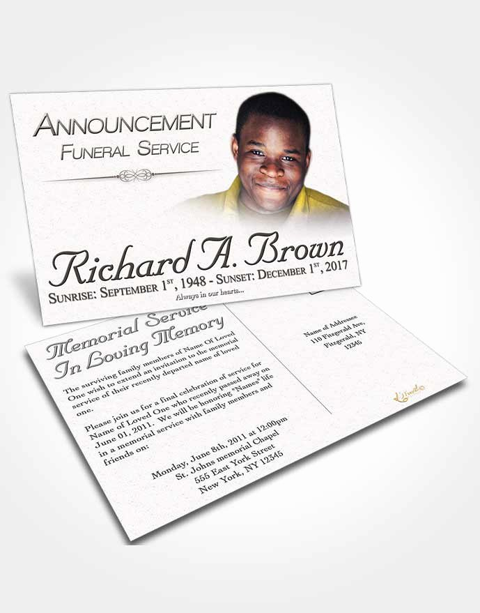 Funeral Announcement Templates Free Unique Obituary Template Trifold Brochure Free Bliss • Funeralparlour