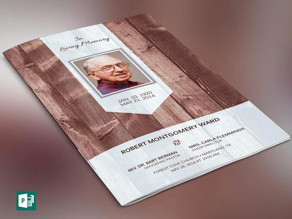 Funeral Program Template Publisher Best Of Scape Funeral Program Publisher Template