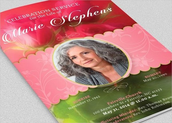 Funeral Program Template Publisher Lovely 24 Funeral Brochure Templates Free Psd Ai Eps format