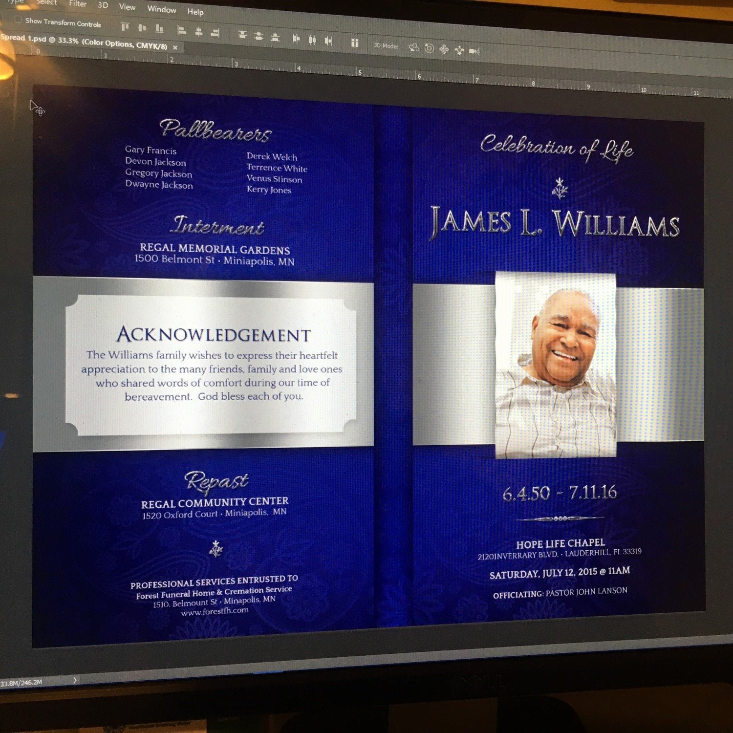 Funeral Program Template Publisher Luxury Regal Funeral Program Publisher Template