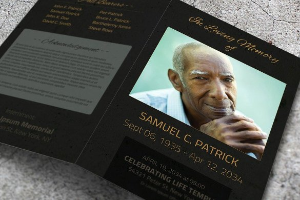 Funeral Program Templates Word New 10 Word Brochure Templates Free Download