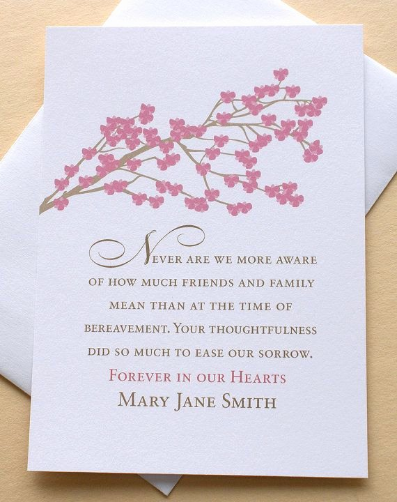 Funeral Thank You Sayings Best Of Funeral Thank You Sympathy Card with A Meadow Of Purple