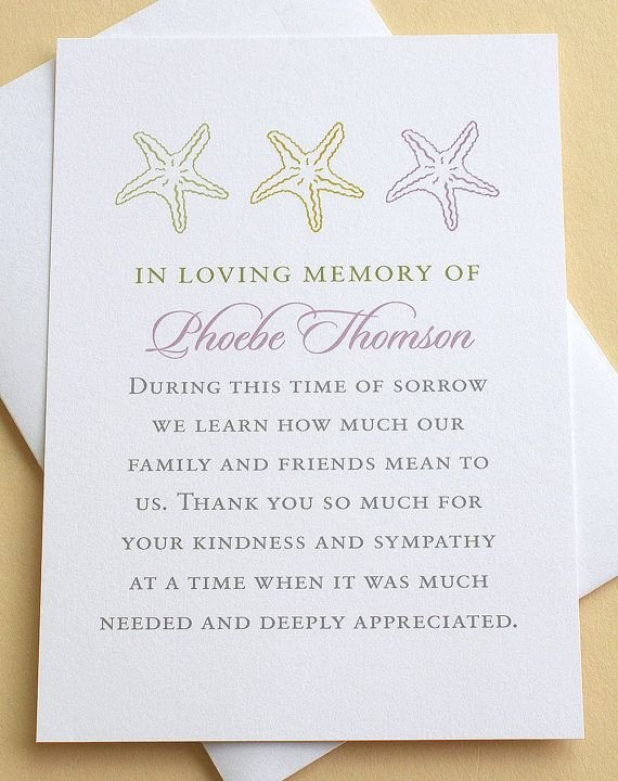 Funeral Thank You Sayings Luxury 16 Best Funeral Thank You Card Images On Pinterest
