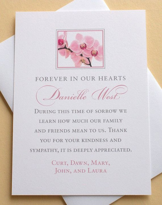 Funeral Thank You Sayings New Let Me Create A Personalized Sympathy Thank You Card for