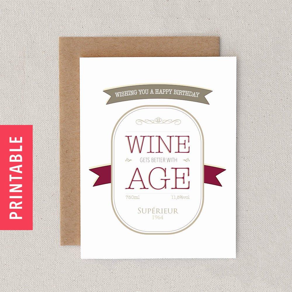 Funny Birthday Card Printable Elegant Funny Printable Customizable Birthday Card Print at by